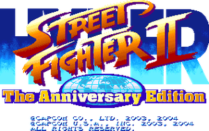 Hyper Street Fighter 2 Logo by OMGWEEGEE2
