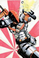 Deathstroke Colors by JazzRy