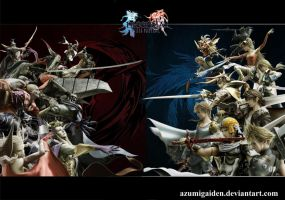 Dissidia - Eternal Fantasy by azumigaiden