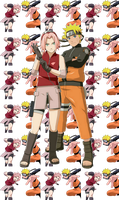 sakura and naruto by Bleach-Fairy