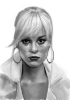 Brie Larson sketch by tonyob