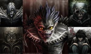 DeathNote digital fan art by AtomiccircuS