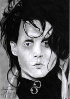 johnny depp edward scissorhands by Bring-the-Pain40