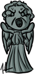 Doctor Who - Weeping Angel by shrimp-pops