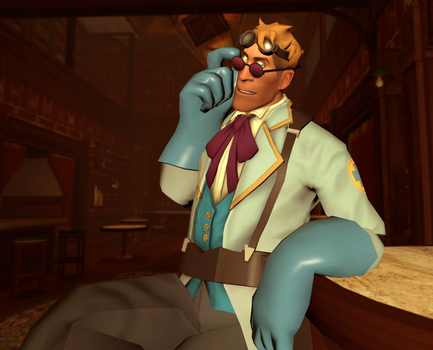 Getting Fancy (GMOD) by Auntie-Mags