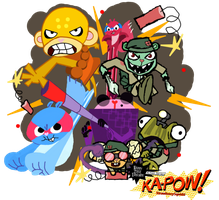 Ka-POW! by StrawberrySquidd