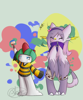 Paint Derp Duo by HokeyPokey08196