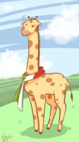 Romano Giraffe... by BlackDiamond13