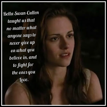 What Bella Taught us by Bellanesssiecullen