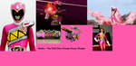 Pink Dino Charge Ranger - Shelby by Starartista87