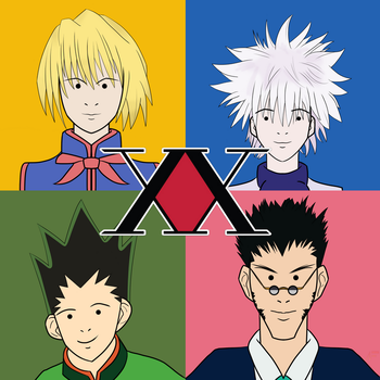 HunterxHunter X Blur by AliasFiammetta