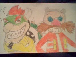 Bowser and Eggman by BubbliciousAirheads