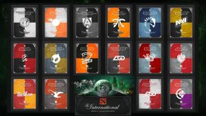 The International 3 - Banners by goldenhearted