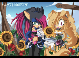 Sunny Day - B-Day Gift by Chibi-Nuffie