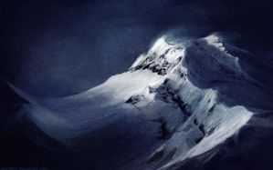 mountain by Atenebris