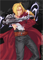 Edward Elric by KAZECoyote