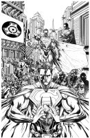 Injustice #1 Year Two_Inks by Raapack