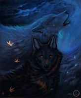 Tears from the moon by FlashW