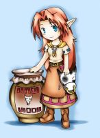 Old: Malon from Zelda by A-Dozen-Red-RosesX