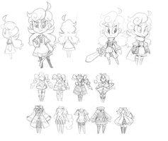 Doodledump, August 1st, 2014 (2/3) by The-Knick