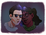 deacon and rita by soularch
