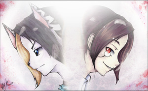 .::light and dark::. by Kimmy-tyan