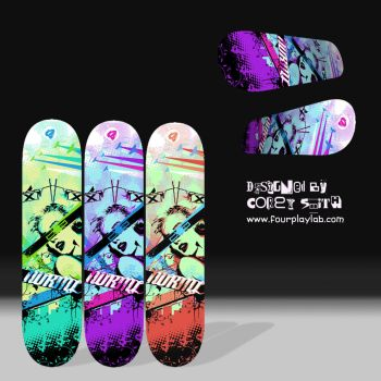 Design for NORML Skateboards by FOURPLAYLAB