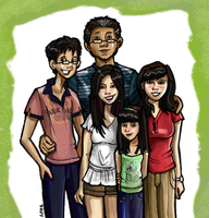 family portrait by blastedgoose