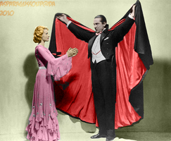 Dracula colorization - 'Spell' by AsparagusSoup