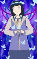 Butterfly Hinata by desertlilly