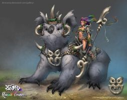 RotRC - Woonona riding Dharuk Gula by dinmoney