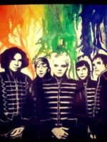 MCR crayon pop art by BlueJupiter