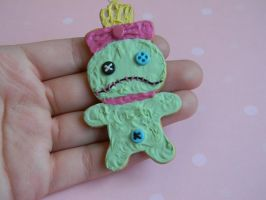 Scrump Rement Cookie Charm-Lilo and Stitch by ThePetiteShop