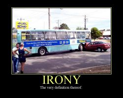 Demotivational: Irony by Ironhold