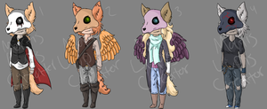 Mortis Lupis Adopts 4- OPEN by Mortis-Lupis-Creator