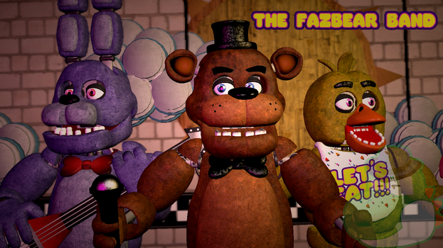 The Fazbear Band by yoshipower879