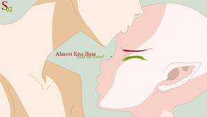 Almost Kiss Base by SAKU02