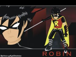 TeeN_TitanS_Robin_Wp by Raven-a-Goth-Girl