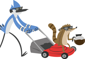 Regular Show by annoyedrobot