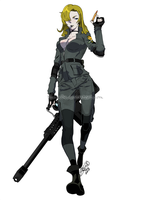 Sniper Wolf by theSN3S