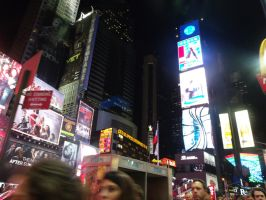 time square NYC by arcticqueen