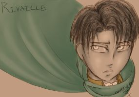 Rivaille Sketch by Digital-Twilight
