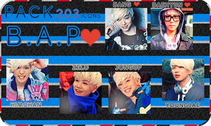 Pack 203 Icons B.A.P by BeTuKaChaN