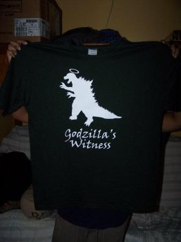 Godzilla's Witness 2.0 Shirt by Jay13x