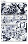 Wolverine Deadpool Domino pencils04 by Raffaele-Ienco