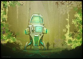 Exploration - Sci-Fi Fantasy #1 by outtheredesign