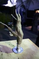 Sculpture: Rough Hand by JessicaDru