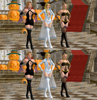 DOA5LR Blonde Queens MOD by redbaron7