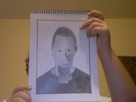 James Hetfield drawing by kbyyru