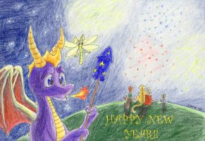 Spyro's New Year by brightcat13527